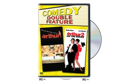 Arthur/Arthur 2: On The Rocks (DVD) (DBFE) 179a82c9-5ee7-416c-8756-aa1530d4ac6b