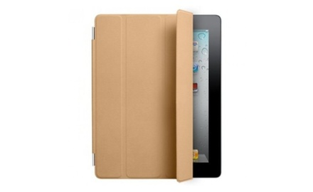 Apple iPad Smart Cover Leather (Tan) - for iPad 1, iPad 2