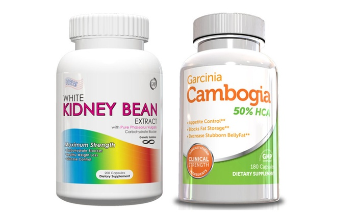 Buy It Now : Weight Loss Kit-Garcinia Cambogia and White Kidney Bean Extract