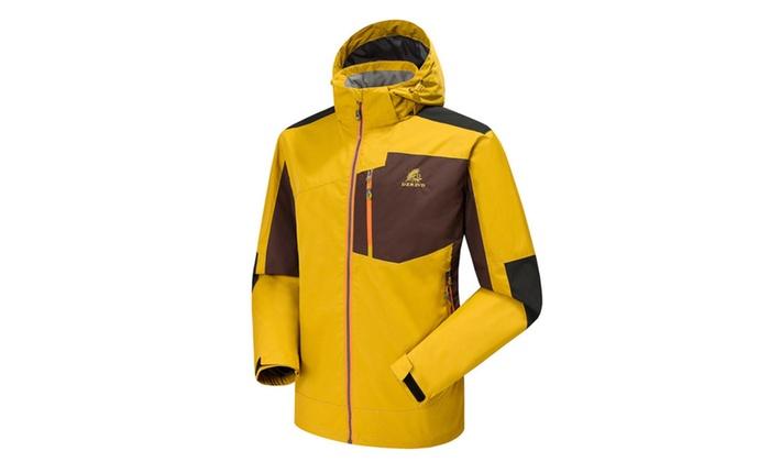 Men's Colorblock Windbreak Outdoor Active Jacket