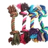 New Fashion Puppy Dog Pet Toy Cotton Braided Bone Rope Chew Knot