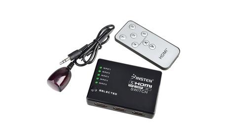 Insten 5 Port HDMI Splitter Selector HDTV 1080P PS3 Xbox360 DVD BluRay 5d20b1f8-dc03-4045-90e7-3ea53b1ad50f
