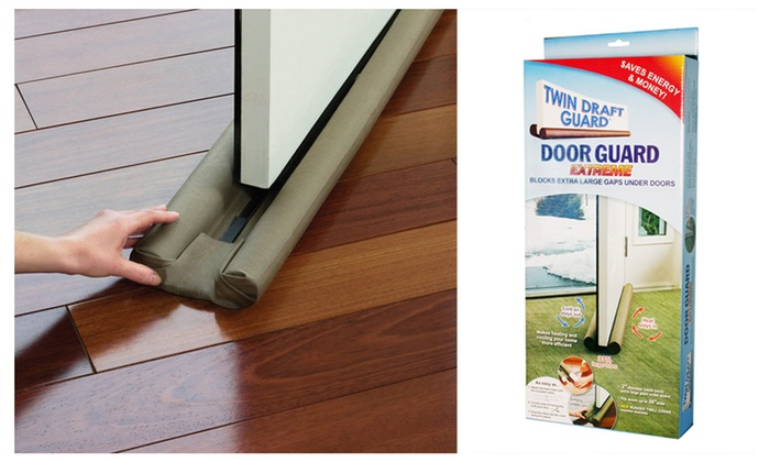 H&ton Direct Twin Draft Guard Extreme Door Guard ... & Hampton Direct Twin Draft Guard Extreme Door Guard | Groupon