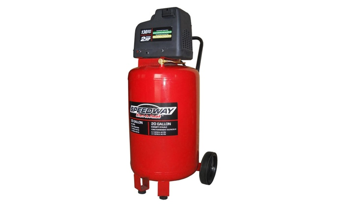 Speedway 20 Gallon Vertical Air Compressor with Oil Free Pump