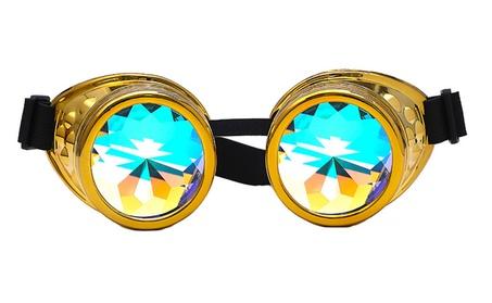 Kaleidoscope Colorful Punk Sunglasses for Women 773533ed-95dc-46f8-8ecb-805d60f0e341