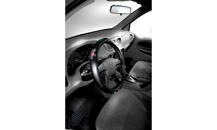 COL 304 Wisconsin Car Steering Wheel Cover