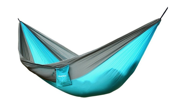 2 person camping garden lightweight portable nylon parachute hammock 2 person camping garden lightweight portable nylon parachute      rh   groupon