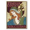 Louis Rhead Prangs Easters Publications 1896 Canvas Print