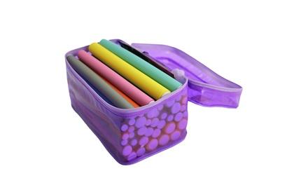 42-Purple Pack Magic Twist Flex Flexi Rods, Foam Hair Curlers Styling