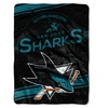 NHL 801 Sharks Stamp Raschel