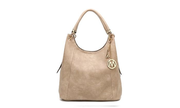 b952a2f54ee9 ... MKF Collection April Designer Hobo Shoulder Bag by Mia K. Farrow