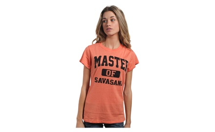 Master of Savasana T Shirt