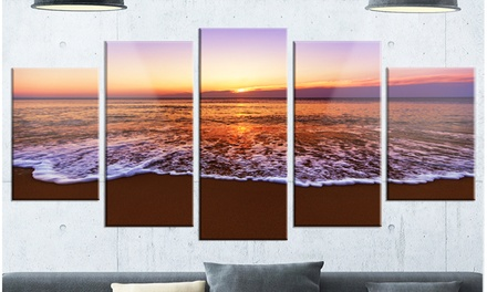 Up To 14 Off On Orange Tinged Sea Waters At S Groupon Goods