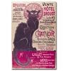 Theophile Steinlen Collection du Chat Noir Canvas Print