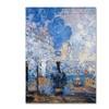 Claude Monet Saint Lazare Station Canvas Print