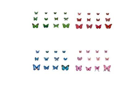 3D Wall Stickers Butterfly Fridge Magnet Wedding Decoration Home Decor efed26f5-3c98-498d-89bb-0ee2e6c7c0a0
