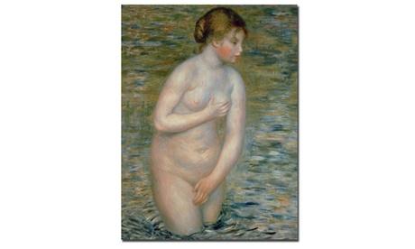 Pierre Auguste Renoir 'Nude in the Water, 1888' Canvas Art c778fd1f-7587-4ddb-af92-97418bd033c2