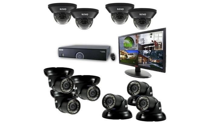 16 Ch. 2TB 960H DVR Surveillance System with 10 700TVL