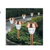 Seasonal Outdoor Decorative Lighting Solar Metal Stake Light Set