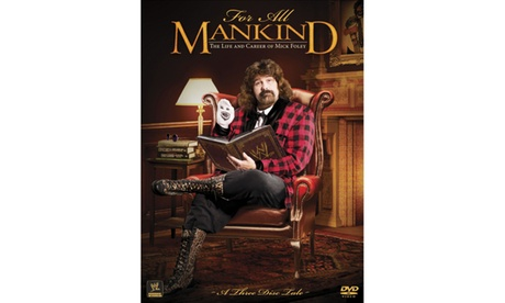 WWE: For All MANKIND: The Life and Career of Mick Foley (3-Disc)(DVD) d1f236ce-3211-464b-884e-64a347164ae2
