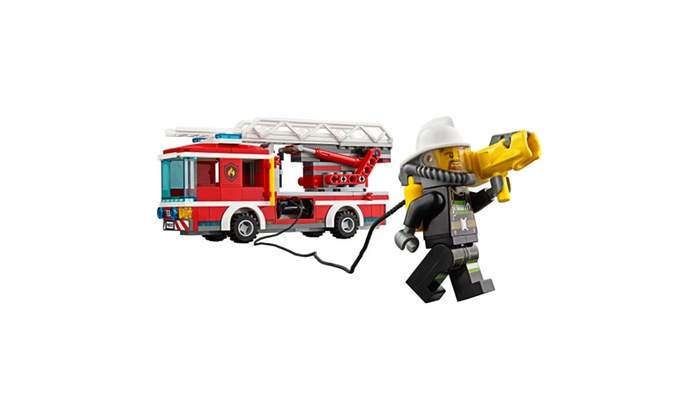 Lego City Fire Ladder Truck 60107 Cool Toy For Kids Groupon