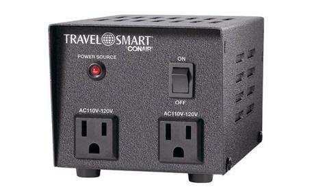 Conair TRA TS501TR Travel Smart 500 Watt Step Down Transformer photo