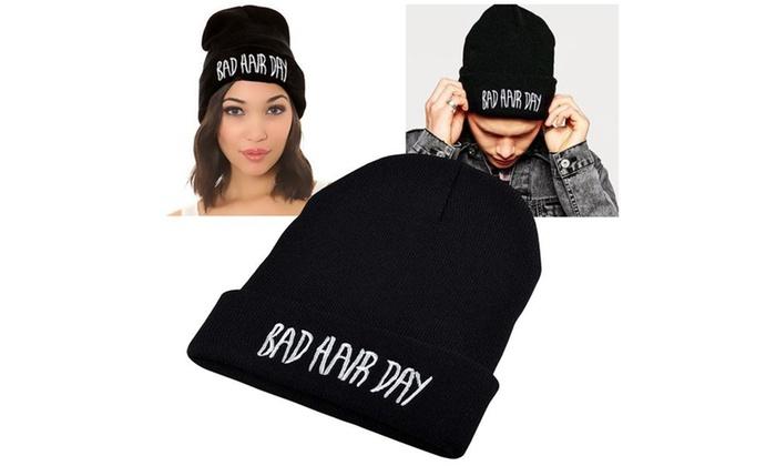 Zodaca Black Style 2 Unisex Knit Hip-hop Fashion Beanie Hats