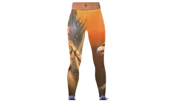 Women's Casual Fashion PullOnStyle Graphic Pants - As Picture / One Size