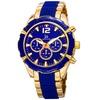 Joshua And Sons Men's Swiss Dual-Time Bracelet Watch JSGP98