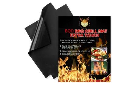 Best BBQ Grill Mat - Heavy Duty 600 Degree Non-Stick Mats (Set of 2) 470b7643-5e92-4953-8a2f-e545b7e33306