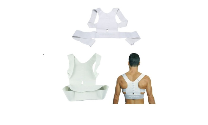 Men Women Magnetic Posture Support Corrector Back Belt