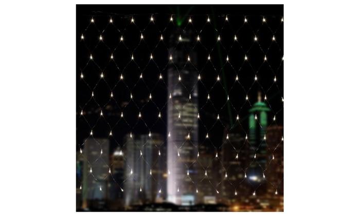 300 LED 4.5m*1.5m Net Mesh Fairy String Light net Lights Cool White