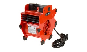 Portable Adjustable Industrial Fan Blower and Heater Attachment