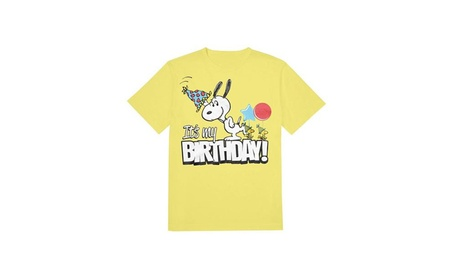 Huge Sportswear Snoopy It's My Birthday T-Shirt