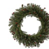 "20"" Fresh Pistol Berry Pine Wreath 240T"