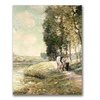 Ernest Lawson Country Road to Spuyten Canvas Print