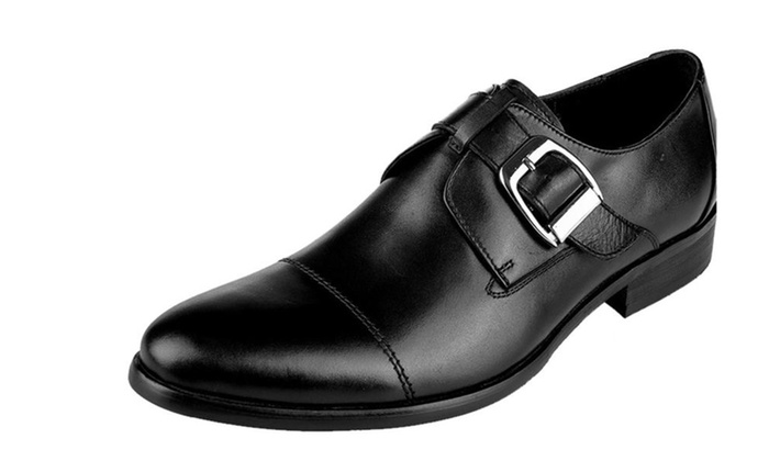Men's Chic And Modern Slip On Oxford Lace-Up Shoe
