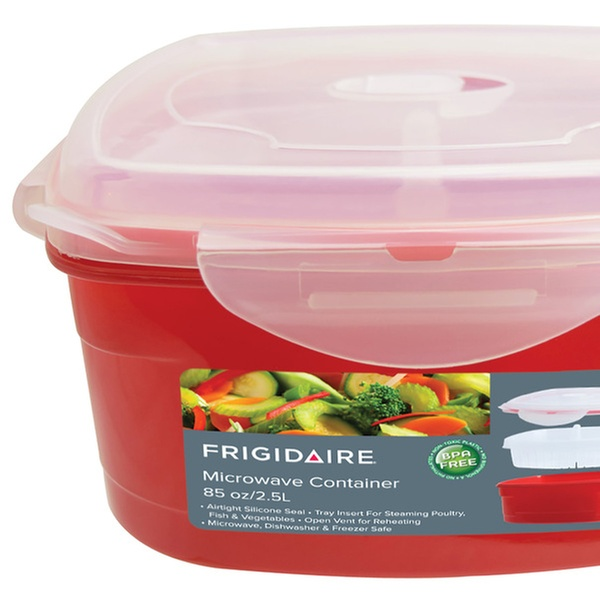 Frigidaire Microwave Container with Steamer Insert