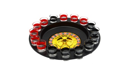 Shot Glass Roulette - Drinking Game Set fb640660-b012-4ef8-bb1c-7502ec36616f