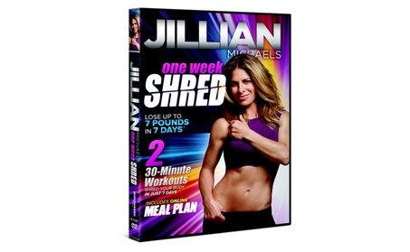 Jillian Michaels One Week Shred Workout DVD d62bf43c-e9b7-47dc-b21e-2dfb55bc88c5