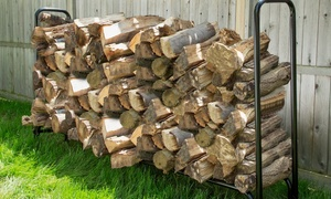 Pure Garden Firewood Log Rack