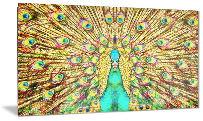Up to 37 off on flashy feathers peacock metal for Where can i buy peacock feathers craft store