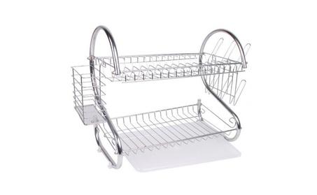 2 Tier Dish Drying Rack 3b5272a4-2f08-4e69-bd4d-884b2b9f81b9
