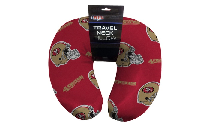 NFL 117 49ers Beaded Span Neck Pillow