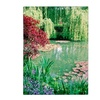 Kathy Yates 'Monet's Lily Pond 2' Canvas Art