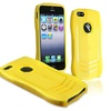 Insten TPU Rubber Skin Case For Apple iPhone 5 / 5s, Yellow