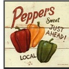 Sweet Peppers by David Carter Brown