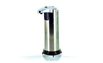 STAINLESS STEEL HANDS FREE SOAP DISPENSER