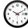 "Timekeeper 5013 12"" Day and Date Wall Clock"