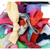 Fancy Stretchable Ribbon Hair Ties (50-Pack)